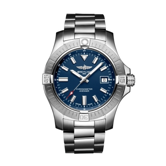 Picture of Breitling Avenger Auto 43 Steel Watch with Blue Dial