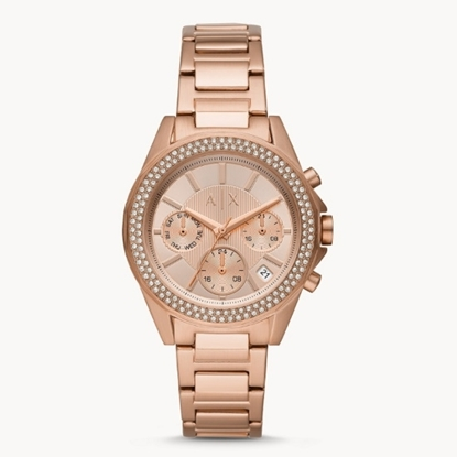 Picture of Armani Exchange Multifunction Rose Gold-Tone Watch