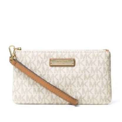 Picture of Michael Kors Jet Set Signature Medium Wristlet