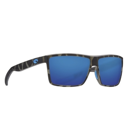 Picture of Costa Rinconcito - Matte Tiger Shark with Blue Mirror Lens