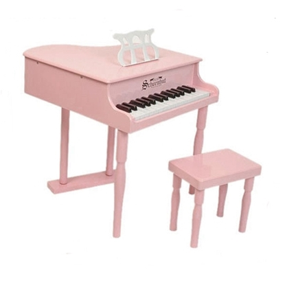 Picture of Schoenhut Classic Baby Grand Piano - Pink
