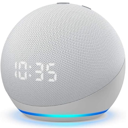 Picture of Amazon Echo Dot 4th Gen Smart Speaker with Clock