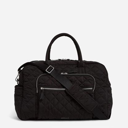 Picture of Vera Bradley Weekender Travel Bag - Black