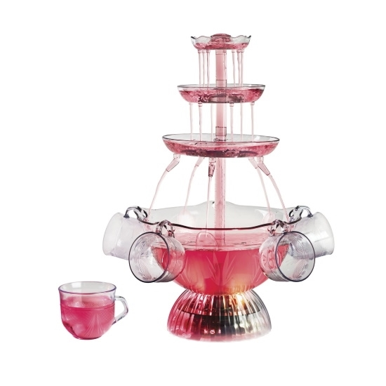 Picture of Nostalgia Lighted Party Fountain with Five Cups