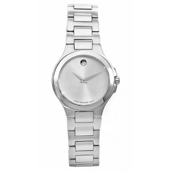 Picture of Movado Ladies Corporate Exclusive Steel Watch with Silver Dial