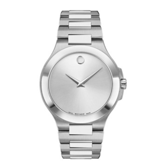 Picture of Movado Men's Corporate Exclusive Steel Watch with Silver Dial