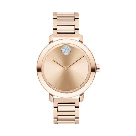 Picture of Movado Bold Ladies' Carnation Gold-Tone Steel Watch