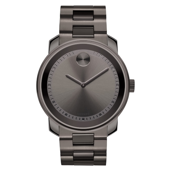 Picture of Movado Bold Gents Gunmetal Stainless Steel Watch