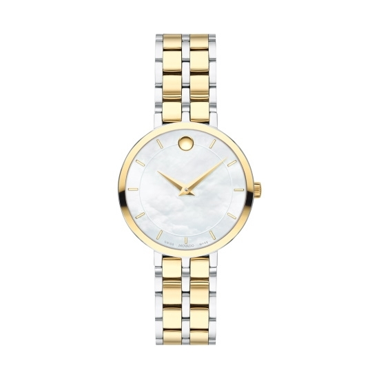 Picture of Movado Kora Ladies' Two-Tone Watch with MOP Dial