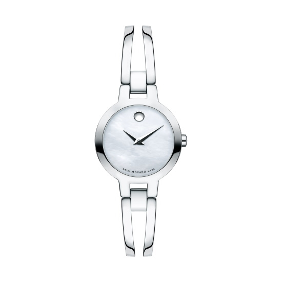 Picture of Movado Amorosa Ladies' Stainless Steel Watch with MOP Dial