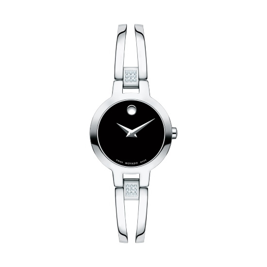 Picture of Movado Amorosa Ladies' Stainless Steel Watch with Diamonds