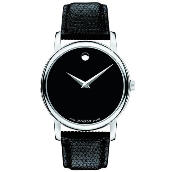 Picture of Movado Classic Museum Gents Watch with Black Dial & Strap