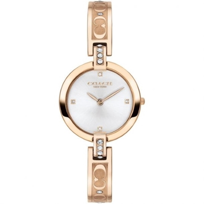 Picture of Coach Chrystie Carnation Gold-Tone Watch