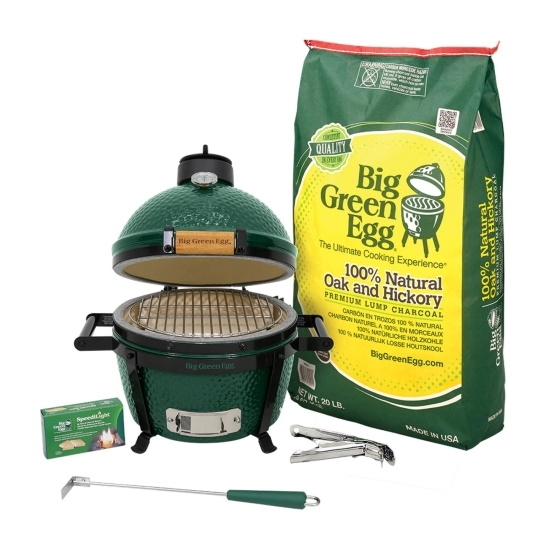 Picture of Big Green Egg MiniMax Grill Package