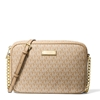 Picture of Michael Kors Jet Set Signature Large E/W Crossbody - Camel