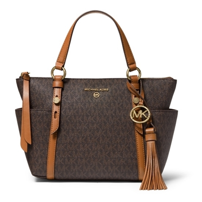 Picture of Michael Kors Nomad Signature Convertible Tote