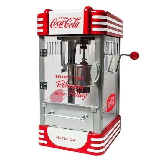 Picture of Nostalgia Electrics Kettle Popcorn Maker - Coke