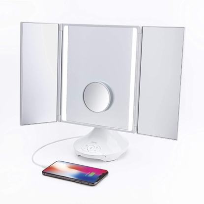 Picture of iHome Reflect Trifold Vanity & Bluetooth® Speaker