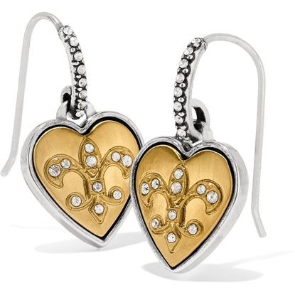 Picture of Brighton One Heart Wire Earrings