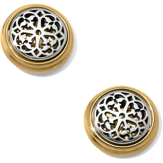 Picture of Brighton Ferrara Two-Tone Post Earrings
