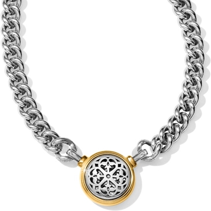 Picture of Brighton Ferrara Two-Tone Reversible Choker Necklace