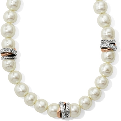 Picture of Brighton Neptune's Rings Pearl Short Necklace