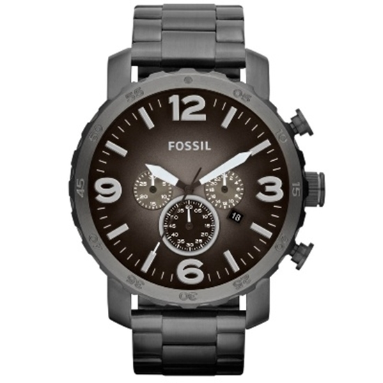 Picture of Fossil® Men's Nate Stainless Steel Watch - Smoke