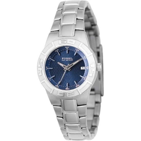 Picture of Fossil Ladies' Classic Sport Watch - Blue Dial