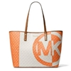 Picture of Michael Kors Carter Signature Large Open Tote