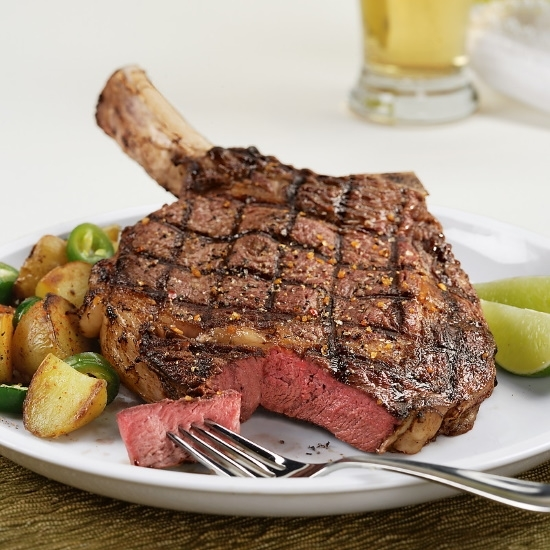 Picture of Kansas City Steaks 22oz. Frenched Bone-In Ribeyes - Set of 4