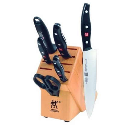 Picture of Zwilling J.A. Henckels Twin Signature 7-Piece Knife Block Set