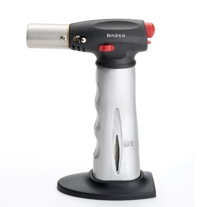 Picture of BonJour® Chef's Torch with Fuel Gauge - Aluminum