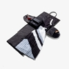 Picture of Hook & Albert Women's Black Fabric Garment Weekender