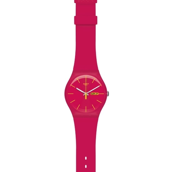 Picture of Swatch ''Rubine Rebel'' Watch