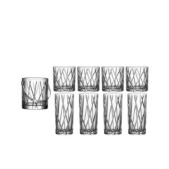 Picture of Orrefors City 9-Piece Drinkware Set
