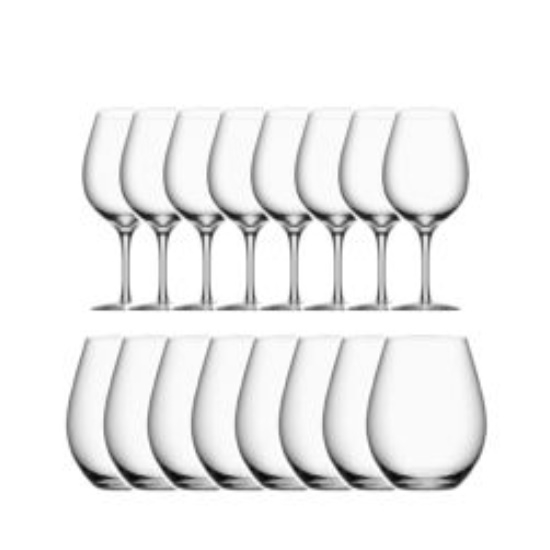 Picture of Orrefors More Wine 16-Piece Glass Set