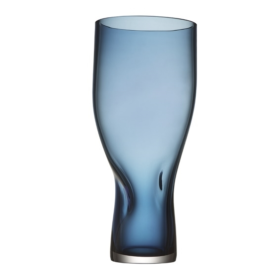 Picture of Orrefors Squeeze Vase Tall - Blue