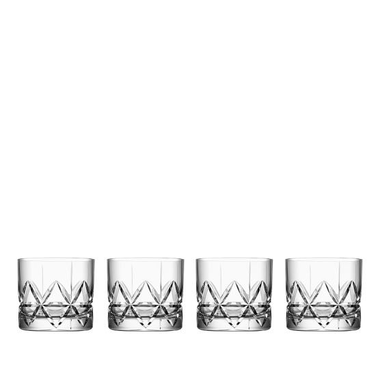 Picture of Orrefors Peak Double Old Fashioned Glasses - Set of 4