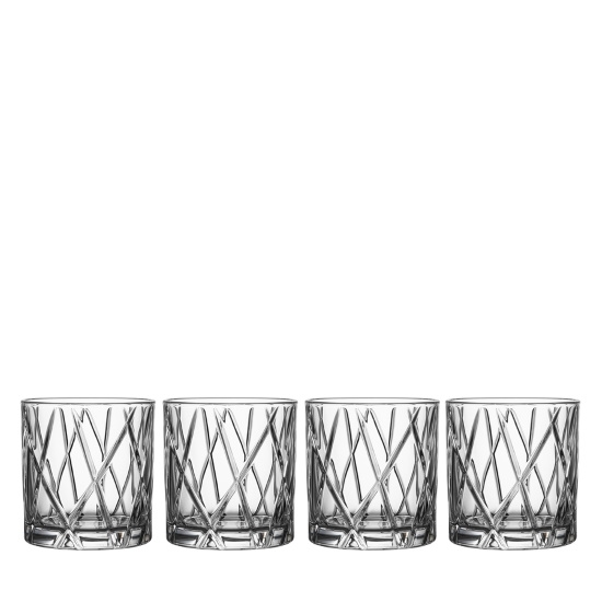 Picture of Orrefors City Double Old Fashion Glasses - Set of 4