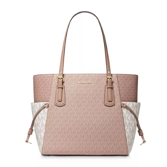 Picture of Michael Kors Voyager E/W Tote - Ballet Multi