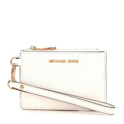 Picture of Michael Kors Small Coin Purse - Optic White