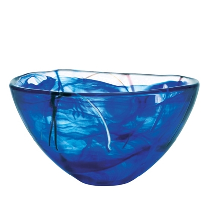 Picture of Kosta Boda Medium Contrast Bowl - Blue