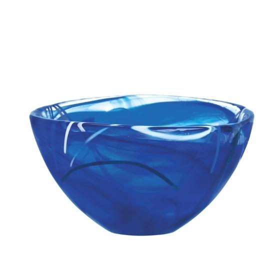 Picture of Kosta Boda Small Contrast Bowl - Blue
