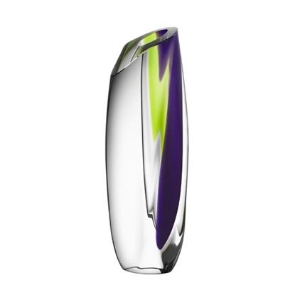 Picture of Kosta Boda Saraband Vase - Purple/Green