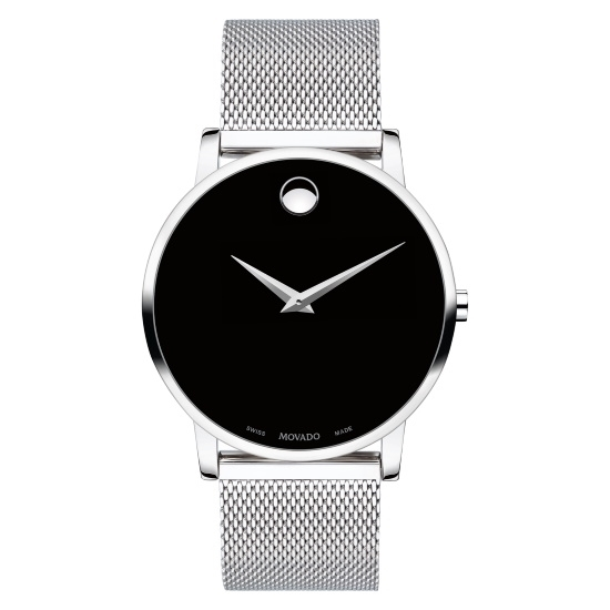 Picture of Movado Museum Classic Gents Stainless Steel Mesh Watch