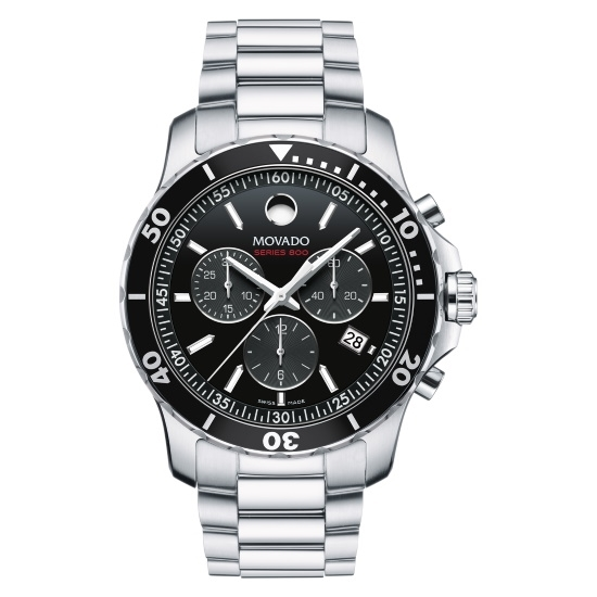 Picture of Movado Series 800 Chrono Gents Watch with Black Dial