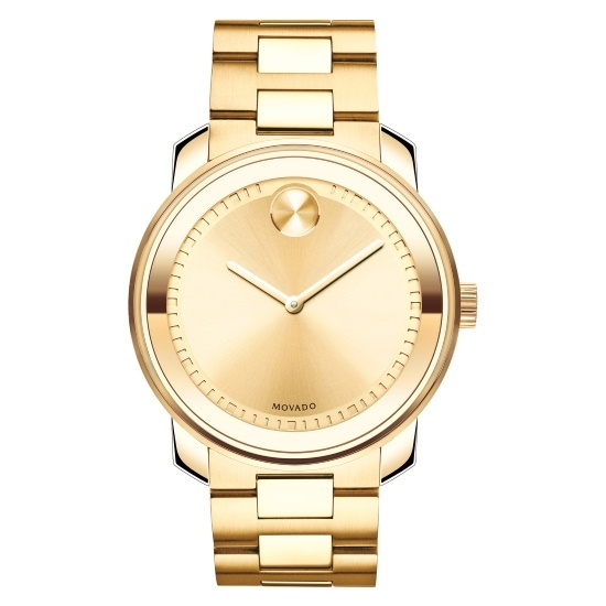 Picture of Movado Bold Gents Yellow Gold-Tone Steel Watch