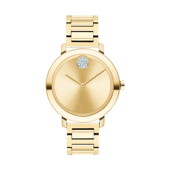 Picture of Movado Bold Ladies' Yellow Gold-Tone Stainless Steel Watch