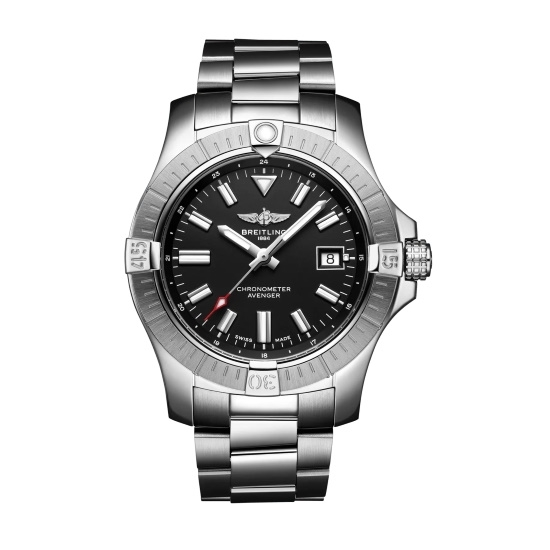 Picture of Breitling Avenger Auto 43 Steel Watch with Black Dial