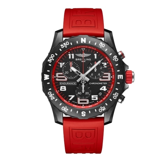 Picture of Breitling Endurance Pro Breitlight® with Red Strap